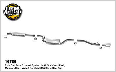 Mazda 3 2.0L 2.3L 2007-2009 Magnaflow Performance Cat-Back Exhaust 16786
