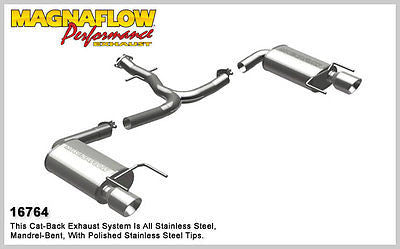 Lexus IS250 2.5L 2005-2013 Magnaflow Performance Axle-Back Exhaust 16764
