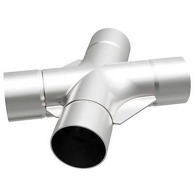 "Universal Tru Cross-Over X-Pipe 2.5"" x 9.5"" Stainless Steel 