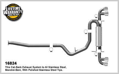 SUBARU IMPREZA WRX STi 2.5 08-11 Magnaflow Performance Cat-Back Exhaust 16824