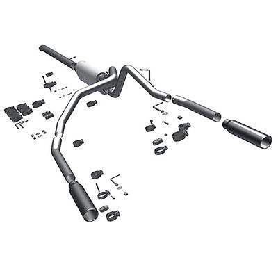 Dodge Dakota V6 3.7L V8 4.7L 2009-2011 Dual Magnaflow Performance Exhaust 15523