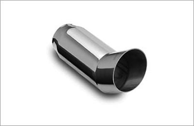 "3"" Out Round DTM 2.25"" Inlet 304 Polished Stainless Magnaflow Exhaust Tip"