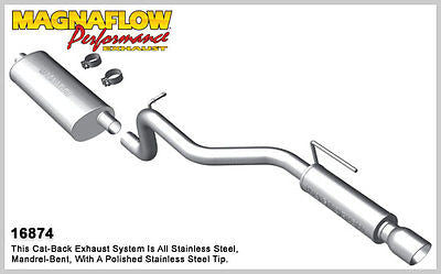 JEEP Cherokee / Liberty V6 3.7L 2008-2013 Magnaflow Performance Exhaust 16874