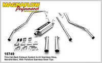 FORD F150 4.6L 5.4L 1997-2003 Dual Magnaflow Performance Cat-Back Exhaust 15749