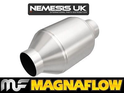 "Universal High Flow Cat 76mm 3"" C/C 200 Cell Round 5"" x 9.75"" 