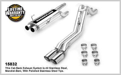 DODGE RAM 1500 SRT-10 8.3 V10 04-05 Magnaflow Performance Cat-Back Exhaust 15832