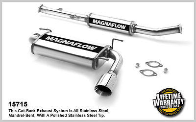 MAZDA MX5 / MIATA 1.6 1.8 1990-1997 Magnaflow Cat-Back Performance Exhaust 15715