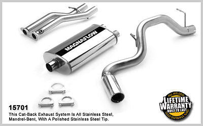 TAHOE / YUKON 5.7 4Dr 1996-1999  Magnaflow Performance Cat-Back Exhaust 15701
