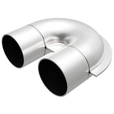 "2.5"" OD U-Pipe Tight Tube Bend Stainless Steel Universal Magnaflow Exhaust 10731"