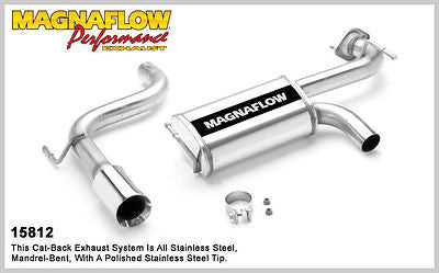 Toyota Celica 1.8i 190HP 00-05 ZZT231 2ZZ-GE Magnaflow Performance Exhaust 15812