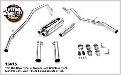 FORD F150 STD CAB 4.6L 5.4L V8 2004-08 Dual Magnaflow Performance Exhaust 16615