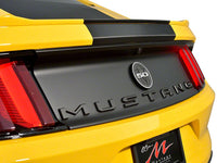 Defenderworx Matte Black MUSTANG Trunk Letters Ford Mustang All Models 900721