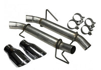 ROUSH Axle-Back Exhaust for Mustang 4.6L/5.4L 2005-10 | #421915