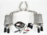 ROUSH Quad Tip 'ACTIVE' Exhaust (Kit) for Mustang 2.3L Ecoboost 2015-17 | #421928