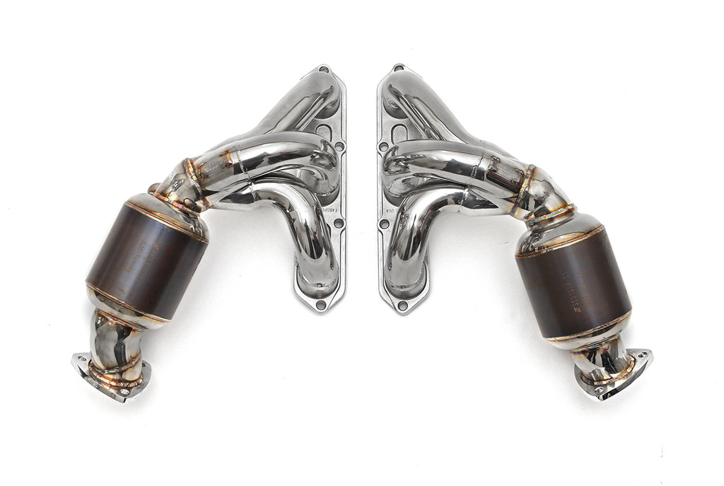 Fabspeed 987 Manifolds with Sports Cats from Nemesis UK