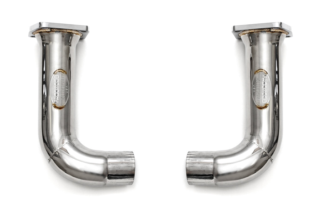 Fabspeed Porsche 991.2 Turbo/S Cat Bypass Pipes from NemesisUK