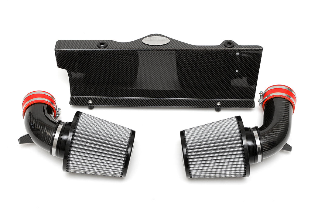 Fabspeed Porsche 997 Turbo Carbon Fibre Competition Air Intake System from NemesisUK