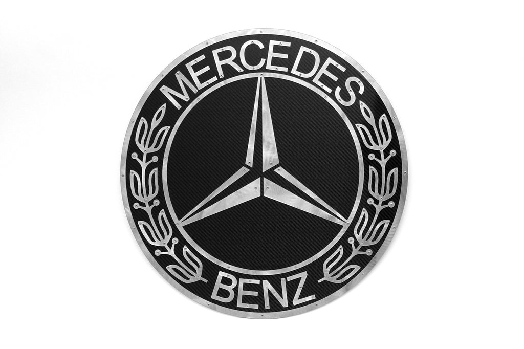 Mercedes Wall Art Carbon Fibre by Fabspeed from Nemesis UK