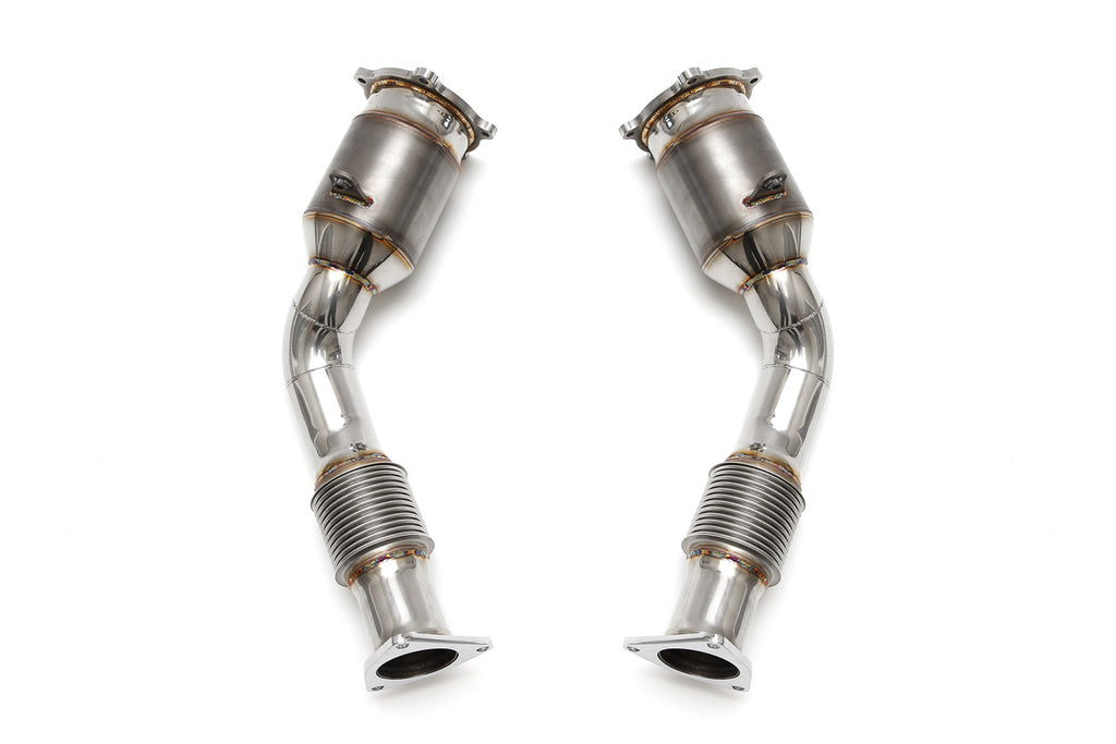 Fabspeed Porsche Cayenne 957 Turbo/S Primary Sports Catalytic Converters from NemesisUK