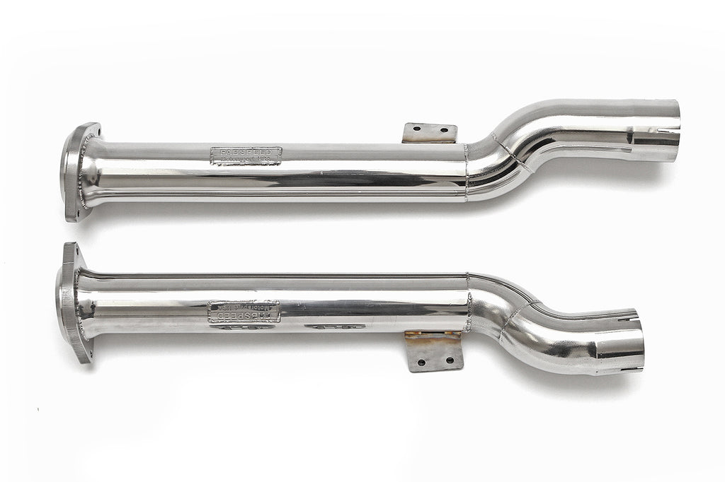 Fabspeed Ferrari 599 Secondary Cat Bypass Pipes from NemesisUK