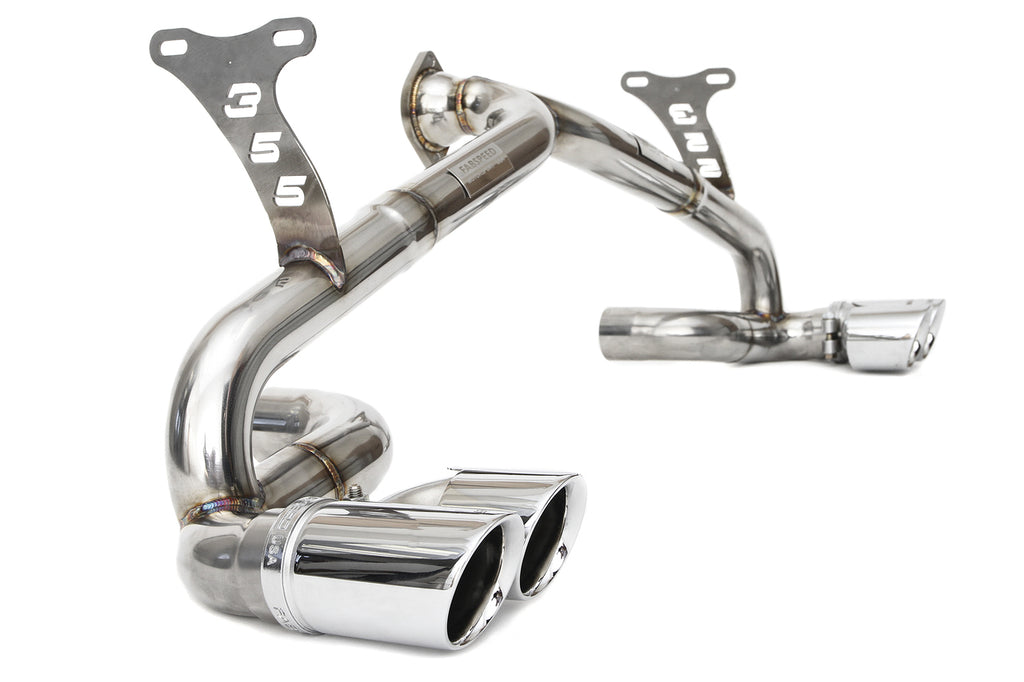 Fabspeed Ferrari 355 (5.2) Race Exhaust System Polished Tips from NemesisUK