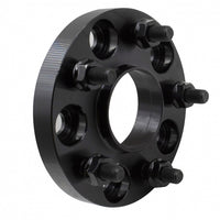 COYOTE ACCESSORIES Hubcentric Wheel Spacers 20mm (Black) (Pair) for Mustang 2015-20 | #5450-5450H-AA705-14
