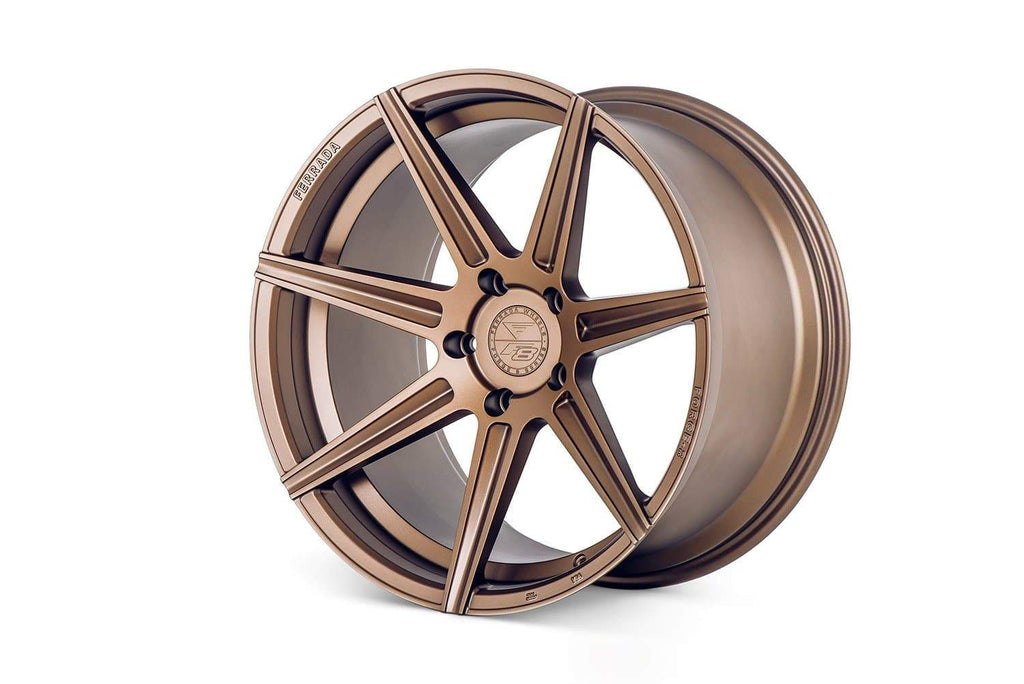 "FERRADA Forge-8 Series F8-FR7 20"" Wheels in Matte Bronze 