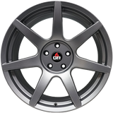 Project 6GR 'SEVEN' Wheels in Gloss Black/Satin Black/Satin Graphite/Custom
