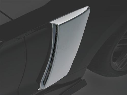Roush Performance Side Scoops for Ford Mustang in Primed 421870