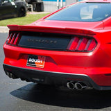 Roush Performance Hood Scoops for Ford Mustang in Race Red 421889