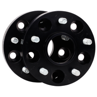 ST (By KW) Black Anodized Wheel Spacers 20mm (Pair 40mm) Focus RS 2016on 56010126