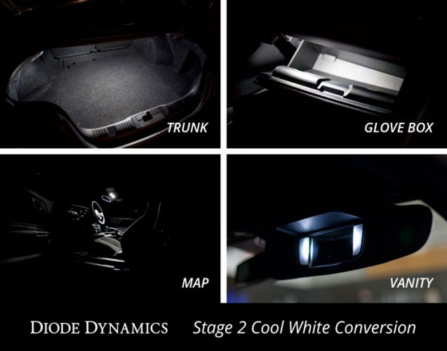 DIODE DYNAMICS Interior LED Conversion Kit for Mustang 2015-17 | #D0221-DD0280