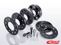 Eibach 25mm Wheel Spacer Kit (Pair) (Black) for Mustang 2015-18 | #S90-4-25-063-B