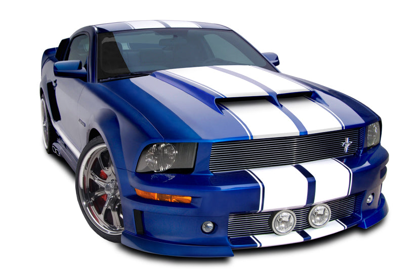 Cervinis Ram Air Hood (Unpainted) For Mustang 2005-09 #1171 -  Cervini's available at NEMESISUK.COM