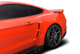 Cervinis Stalker Side Scoops (Unpainted) for Mustang 2015-18 | #4450