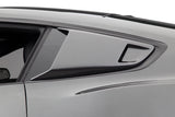 CERVINIS Eleanor Style Window Scoops (Unpainted) for Mustang 2015-18 | #4449-CERVINIS