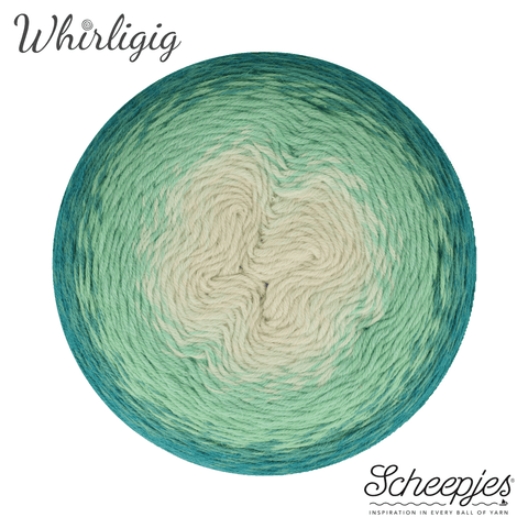 Scheepjes Whirligig 205 Teal to Ombre
