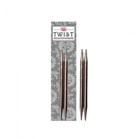 Chiaogoo Twist Red Lace needle tips- 3.25mm