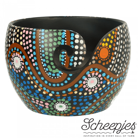 Scheepjes Yarn Bowl Aboriginal