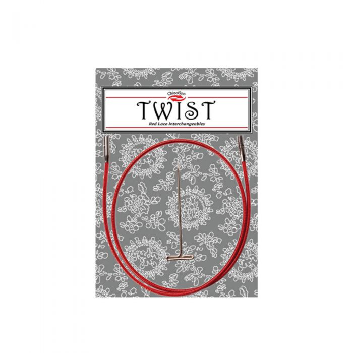 Chiaogoo Twist Red Cable 17 - 35cm L