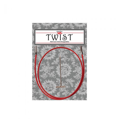 Chiaogoo Twist Red Cable 55cm L