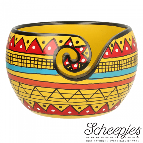 Scheepjes Yarn Bowl Yellow