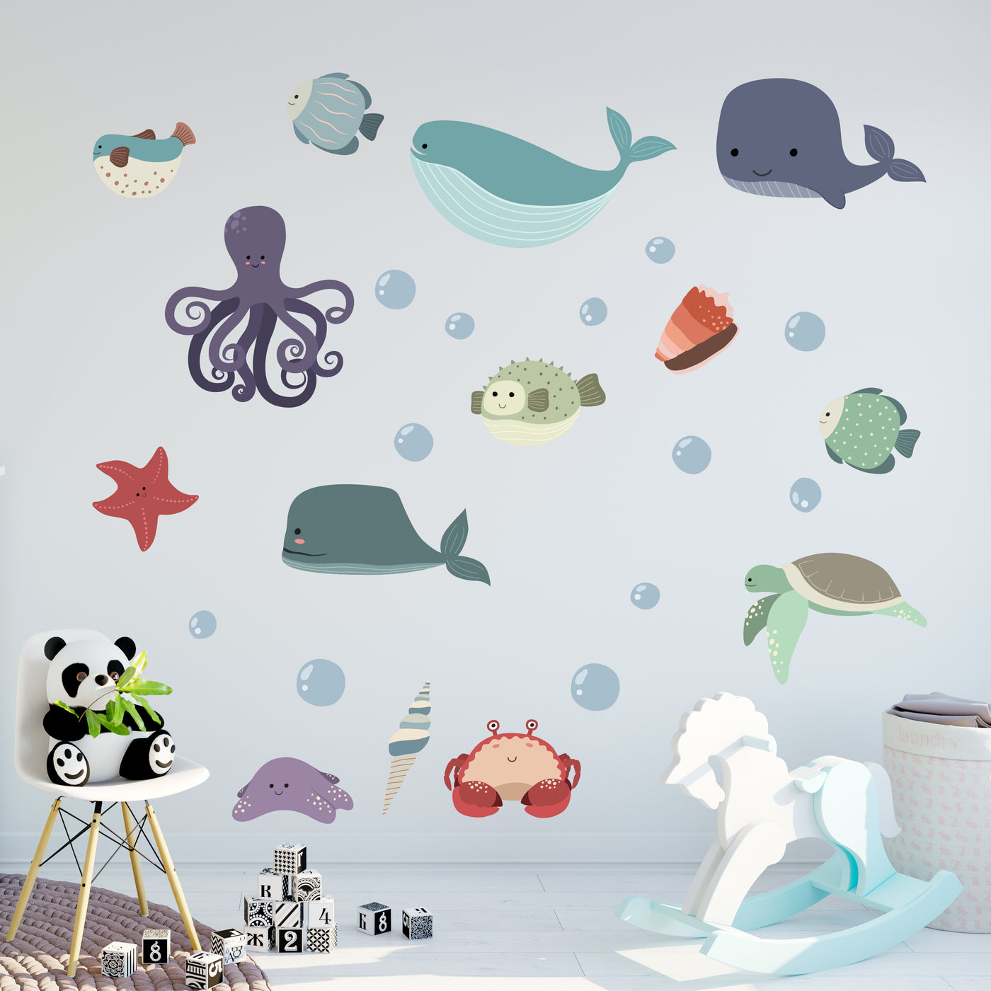 Children's Sea Animal Wall Stickers