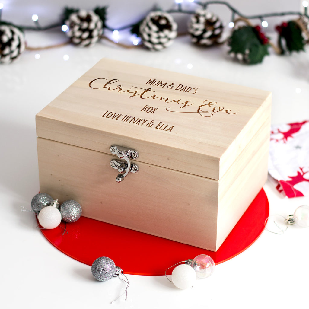 Personalised Adults Christmas Eve Box