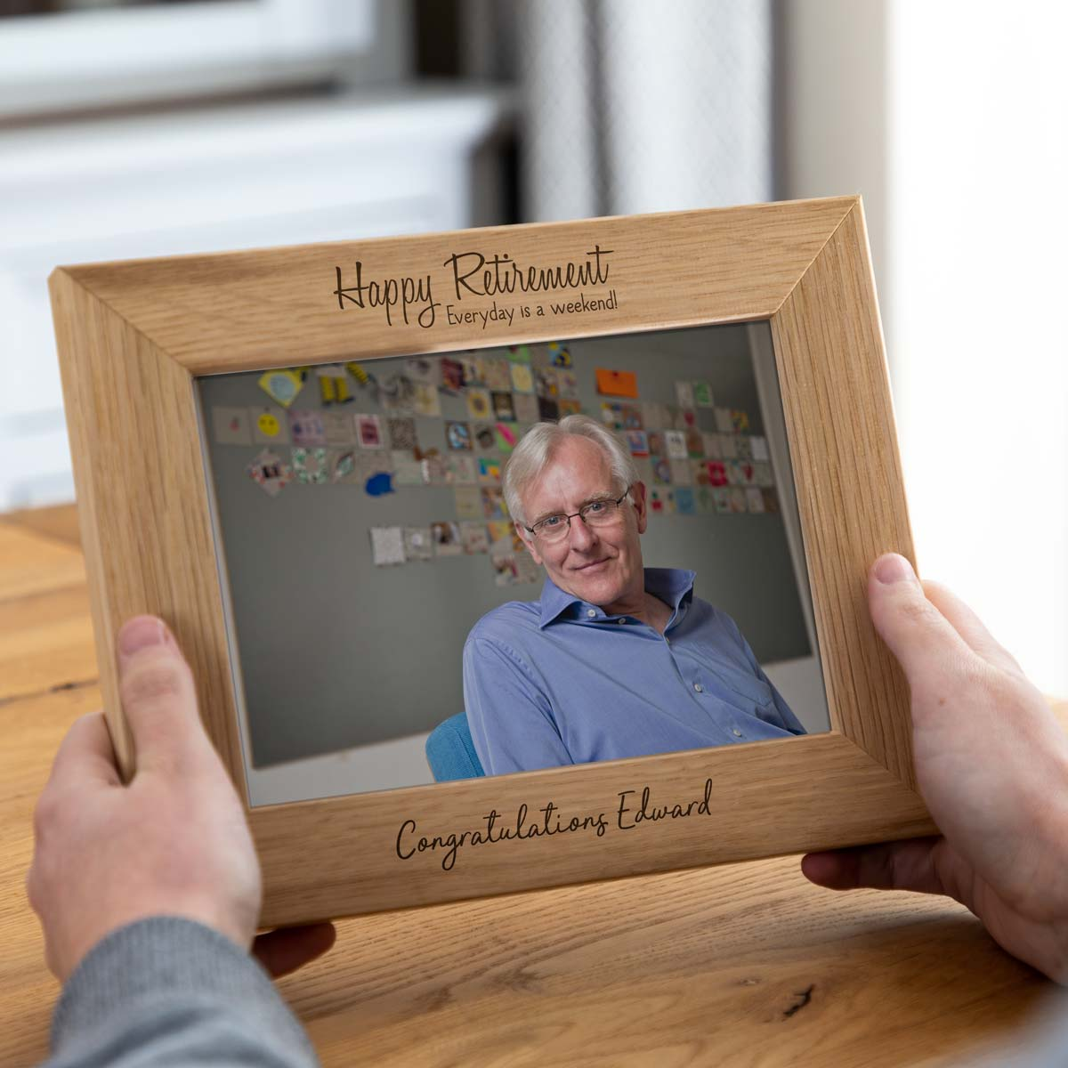Personalised Retirement Gift Photo Frame