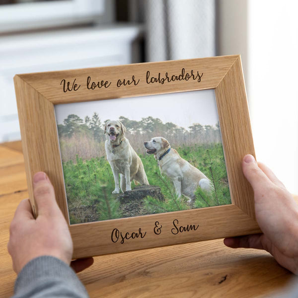 Personalised Pet Photo Frame