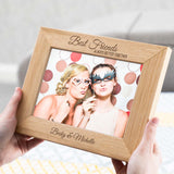 Personalised Photo Frame Gift For Friend