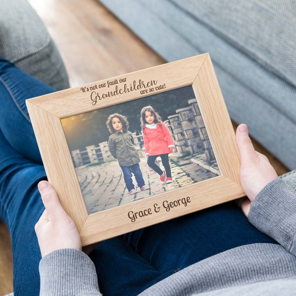 Personalised Grandchildren Photo Frame