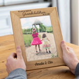 Personalised Photo Frame Gift For Grandparents