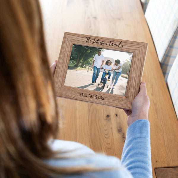 Personalised Family Photo Frame